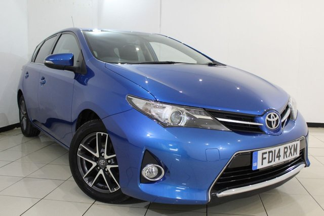 View our 2014 14 TOYOTA AURIS 1.6 VALVEMATIC ICON PLUS 5DR 130 BHP