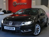 USED 2013 63 VOLKSWAGEN CC 2.0 TDI GT BLUEMOTION TECH 4d 140 S/S SAT NAV, FULL LEATHER INTERIOR, HEATED FRONT SEATS, FRONT & REAR PARKING SENSORS WITH DISPLAY, DAB RADIO, BLUETOOTH PHONE & MUSIC STREAMING, PRIVACY GLASS, HEADLAMP WASHERS, CRUISE CONTROL, LIGHT & RAIN SENSORS WITH AUTO DIMMING REAR VIEW, 18 INCH INTERLAGOS ALLOY WHEELS, LEATHER MULTI FUNCTION STEERING WHEEL, SPORT SEATS, MDI INPUT FOR IPOD/USB DEVICES, AUX INPUT, SD CARD READER, 1 OWNER FROM NEW, SERVICE HISTORY, £30 ROAD TAX (120 G/KM)