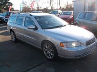 USED 2007 56 VOLVO V70 2.4 D5 SE SPORT 5d AUTO 183 BHP AFFORDABLE FAMILY ESTATE CAR IN EXCELLENT CONDITION WITH EXCELLENT SERVICE HISTORY, DRIVES SUPERBLY !!