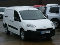 USED 2015 15 PEUGEOT PARTNER 1.6HDI L2 Crew Van 90 BHP * Twin Side Loading Doors * FINANCE AVAILABLE
