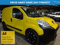 2011 PEUGEOT BIPPER 1.2 HDI S 1d 75 BHP-WITH SERVICE HISTORY £2795.00