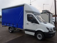 2015 MERCEDES-BENZ SPRINTER 313 CDI MWB CURTAIN SIDER, FULL SERVICE HISTORY, 1 COMPANY OWNER £SOLD