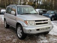 USED 2004 54 MITSUBISHI SHOGUN PININ 2.0 GDi Warrior 5dr + CHEAP 4X4 + CAMBELT CHANGED+