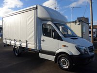 2013 MERCEDES-BENZ SPRINTER 313 CDI MWB AUTOMATIC CURTAIN SIDER, 1 COMPANY OWNER £14995.00