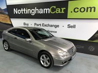 2004 MERCEDES C-CLASS C180 KOMPRESSOR SE SPORTS £1495.00