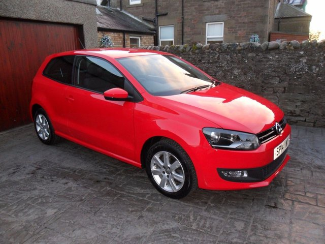 2014 14 VOLKSWAGEN POLO 1.2 MATCH EDITION 3d 59 BHP