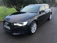 USED 2012 12 AUDI A6 2.0 AVANT TDI SE 5d 175 BHP GOOD SPEC 1 OWNER FACELIFT CAR WITH HEATED LEATHER SAT NAV FSH