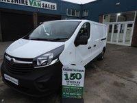 2015 VAUXHALL VIVARO 1.6 2900 L2H1 CDTI  115 BHP LWB NEW SHAPE FSH CHOICE £8595.00