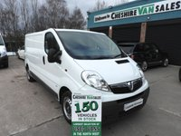 2014 VAUXHALL VIVARO 2.0 2900 CDTI  115 BHP LWB WITH FSH CHOICE £6595.00