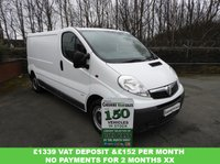 USED 2014 64 VAUXHALL VIVARO 2.0 2900 CDTI  115 BHP LWB WITH FSH CHOICE 1 FLEET OWNER FSH CHOICE IN STOCK
