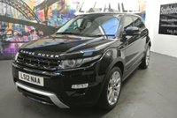 USED 2012 12 LAND ROVER RANGE ROVER EVOQUE 2.2 SD4 DYNAMIC LUX 5d AUTO 190 BHP
