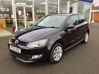 2013 VOLKSWAGEN POLO 1.2 MATCH EDITION 3DR 59 BHP £6680.00