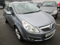 USED 2009 09 VAUXHALL CORSA 1.4 DESIGN 16V TWINPORT 5d AUTOMATIC   90 BHP