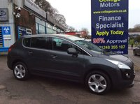 USED 2012 62 PEUGEOT 3008 1.6 ACTIVE HDI FAP 5d 112 BHP, only 52000 miles ***GREAT FINANCE DEALS....NO PAYMENTS TILL 2018*** .........t&c's apply, subject to status