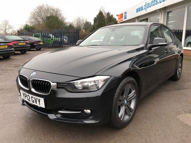 2012 12 BMW 3 SERIES 2.0 320D SPORT 4d 184 BHP