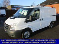 USED 2010 FORD TRANSIT 300s SWB DIRECT FROM BT FLEET WITH FULL HISTORY