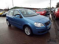 USED 2007 07 VOLKSWAGEN POLO 1.4 S 5d 79 BHP FULL DEALER SERVICE HISTORY
