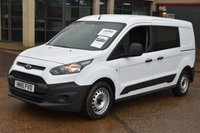 USED 2015 15 FORD TRANSIT CONNECT 1.6 230 DCB 6d 94 BHP LR LWB FWD COMBI VAN ONE OWNER FROM NEW