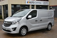 USED 2016 16 VAUXHALL VIVARO 1.6 2900 L1H1 CDTI P/V SPORTIVE 5d 114 BHP A/C ECO  ONE OWNER FROM NEW, FULL SERVICE HISTORY