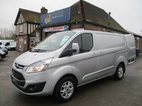 USED 2013 FORD TRANSIT CUSTOM 270 LIMITED L1H1 WITH FULL ELECTRIC PACK