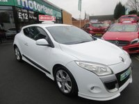 USED 2011 61 RENAULT MEGANE 1.5 DYNAMIQUE TOMTOM DCI ECO 3d 110 BHP WRS BODYKIT..DIESEL..TOM TOM SAT NAV..PRIVACY GLASS
