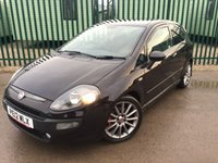USED 2012 12 FIAT PUNTO EVO 1.6 MULTIJET SPORTING 3d 120 BHP AIR CON ALLOYS MOT 01/19 STUNNING BLACK WITH GREY CLOTH TRIM. 17 INCH ALLOYS. COLOUR CODED TRIMS. PRIVACY GLASS. BLUETOOTH PREP. AIR CON. R/CD PLAYER. 6 SPEED MANUAL. MFSW. MOT 01/19. SERVICE HISTORY. AGE/MILEAGE RELATED SALE. TEL 01937 849492