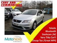 USED 2013 63 SEAT TOLEDO 1.6 TDI Ecomotive S 5dr Very Tidy! A/C Bluetooth Dashcam!