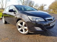 USED 2010 59 VAUXHALL ASTRA 1.6 TURBO SRI 5d UPGRADED ALLOYS