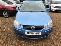 USED 2008 58 VOLKSWAGEN POLO 1.2 MATCH 5d 68 BHP