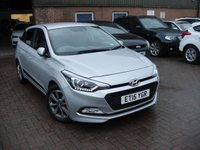 USED 2015 15 HYUNDAI I20 1.4 GDI PREMIUM 5d AUTO 99 BHP ANY PART EXCHANGE WELCOME, COUNTRY WIDE DELIVERY ARRANGED, HUGE SPEC