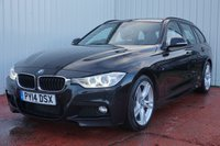 2014 BMW 3 SERIES 3.0 330D M SPORT TOURING 5d AUTO 255 BHP £13495.00