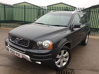 USED 2013 63 VOLVO XC90 2.4 D5 SE NAV AWD 5d AUTO 200 BHP 7 SEATER SAT NAV LEATHER ONE OWNER FSH NO FINANCE REPAYMENTS FOR 2 MONTHS STC. 4WD. 7 SEATER. SATELLITE NAVIGATION. STUNNING GREY MET WITH FULL BLACK LEATHER TRIM. ELECTRIC HEATED SEATS. CRUISE CONTROL. 18 INCH ALLOYS. COLOUR CODED TRIMS. PARKING SENSORS. BLUETOOTH PREP. CLIMATE CONTROL. R/CD PLAYER. MFSW. MOT 12/18. ONE OWNER FROM NEW. FULL SERVICE HISTORY. FCA FINANCE APPROVED DEALER. TEL 01937 849492.