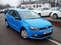USED 2015 64 VOLKSWAGEN POLO 1.0 S AC 5d 60 BHP FULL Volkswagen Service History