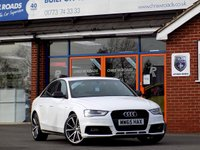 USED 2015 65 AUDI A4 2.0 TDi S LINE BLACK EDITION NAV 4dr (190)