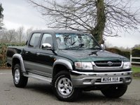 USED 2004 54 TOYOTA HI-LUX 2.5 280 VX DOUBLE CAB 4WD 2 OWNERS - FULL S/H - MOT 1/19