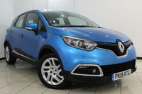 USED 2015 15 RENAULT CAPTUR 1.5 DYNAMIQUE MEDIANAV ENERGY DCI S/S 5DR 90 BHP SAT NAVIGATION + BLUETOOTH + CRUISE CONTROL + MULTI FUNCTION WHEEL + 17 INCH ALLOY WHEELS