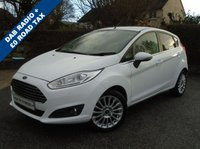 USED 2013 13 FORD FIESTA 1.5 TITANIUM TDCI 5d 74 BHP ** £0 TAX + DAB RADIO + CRUISE **