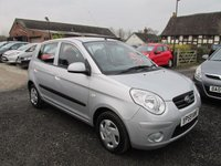 USED 2009 59 KIA PICANTO 1.0 1 5DR £30 TAX £30 ROAD TAX EXCELLENT MPG