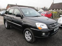 USED 2009 59 KIA SPORTAGE 2.0 XE 5DR 4X4  4X4 ELECTRIC PACK