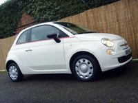 2013 FIAT 500 1.2 POP 3d 69 BHP £4999.00