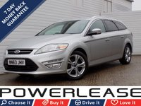 USED 2014 63 FORD MONDEO 1.6 TITANIUM X BUSINESS EDITION TDCI START/STOP 5d 114 BHP SAT NAV LEATHER SEATS 20 POUND TAX