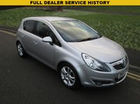 USED 2010 60 VAUXHALL CORSA 1.2 SXI A/C 5d 83 BHP FULL MAIN DEALER SERVICE HISTORY - 49,000 GUARANTEED MILES