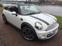 2011 MINI CONVERTIBLE 1.6 COOPER SOHO 2d 120 BHP £8990.00