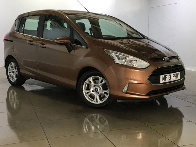 View our 2013 13 FORD B-MAX 1.4 ZETEC 5d 89 BHP