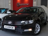 USED 2015 65 VOLKSWAGEN PASSAT 1.6 TDI S BLUEMOTION TECH 4d 120 S/S DAB RADIO, BLUETOOTH PHONE & MUSIC STREAMING, AUX & USB INPUTS, KEYLESS START, AUTO HILL HOLD, AIR CONDITIONING, LEATHER FLAT BOTTOM MULTIFUNCTION STEERING WHEEL, FRONT CENTRE ARM REST, 1 OWNER FROM NEW, FULL VW SERVICE HISTORY, BALANCE OF MANUFACTURERS WARRANTY, £20 ROAD TAX (105 G/KM)