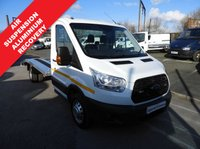 2016 FORD TRANSIT 2.2 350 RECOVERY TRUCK BEAVERTAIL 125 BHP LOW 35500 MILES EXLWB L4 £17995.00