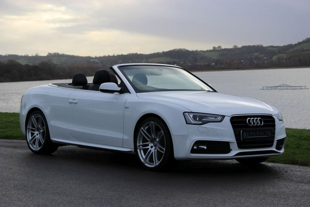 2013 63 AUDI A5 2.0 TDI S LINE SPECIAL EDITION CABRIOLET 177 PS