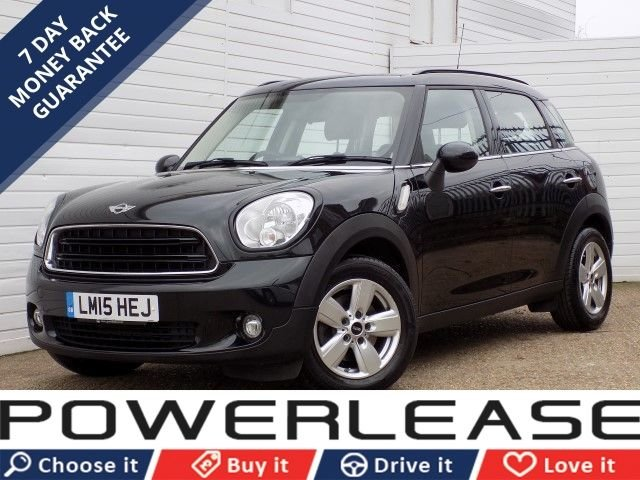 USED 2015 15 MINI COUNTRYMAN 1.6 COOPER D 5d 112 BHP 30 POUND ROAD TAX FOG LIGHTS FSH