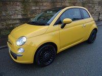 2013 FIAT 500 1.2 LOUNGE 3d 69 BHP £5400.00