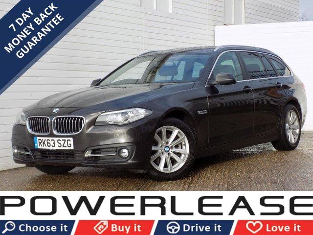 USED 2013 63 BMW 5 SERIES 2.0 520D SE TOURING 5d AUTO 181 BHP HEATED SEATS DAB LCI MODEL